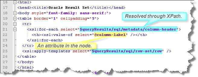 XML Query To Oracle | MacLochlainns Weblog