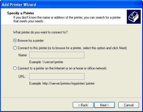 how to add a printer with vmware windows 10