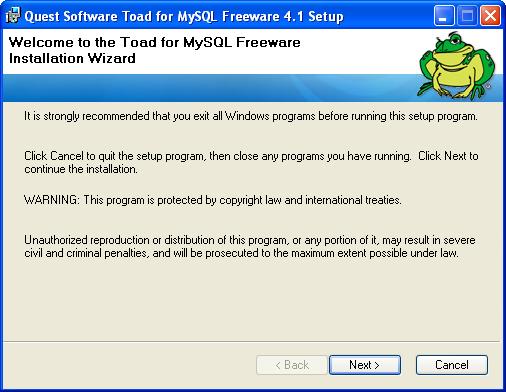 ToadMySQL2