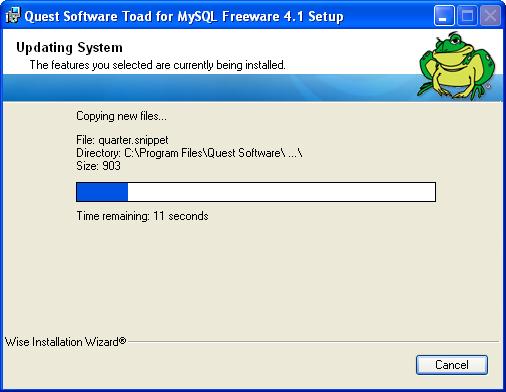 ToadMySQL7