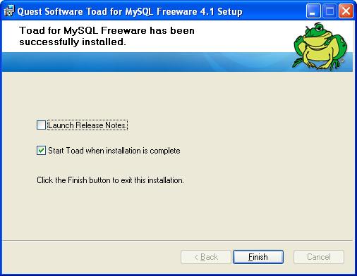 ToadMySQL8
