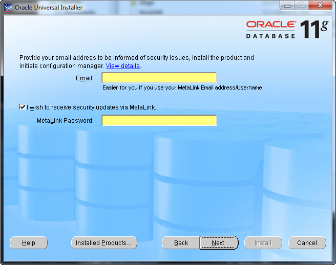 oracle 11g free  for windows 8 32 bit