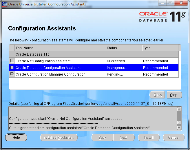 Oracle11gInstall09a