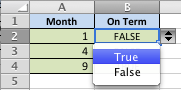 How to create a text literal data validation in Excel ...