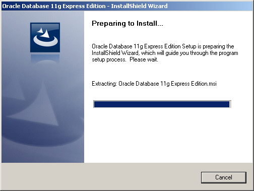 Step-by-step Install of Oracle 11g XE