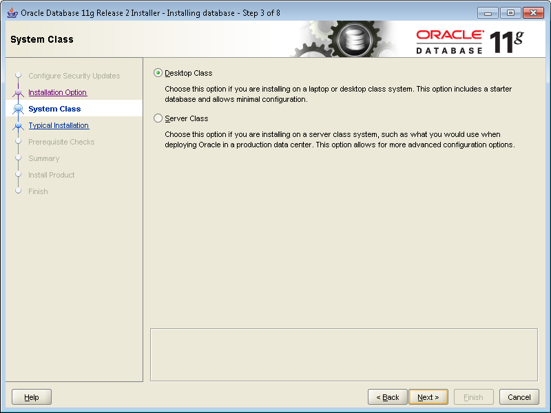 oracle express edition 11g installation guide