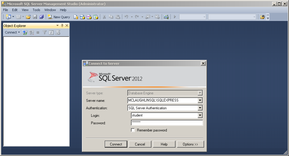 How To Configure A Sql Server Schema