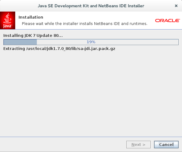How to install JDK 7 and Netbeans 8 IDE on Fedora