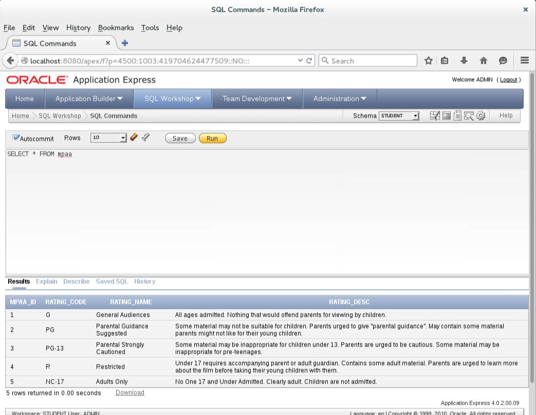 Oracle APEX   MacLochlainns Weblog